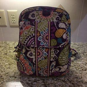 b25efbf958 Vera Bradley Backpack in Plum Crazy